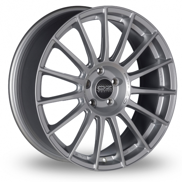 Picture of 19 Inch OZ Racing Superturismo LM Silver Alloy Wheels