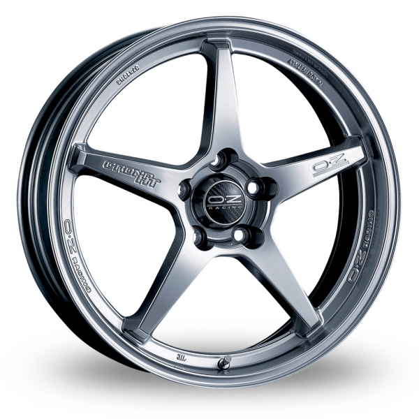 Picture of 17 Inch OZ Racing Crono HT Titanium Alloy Wheels