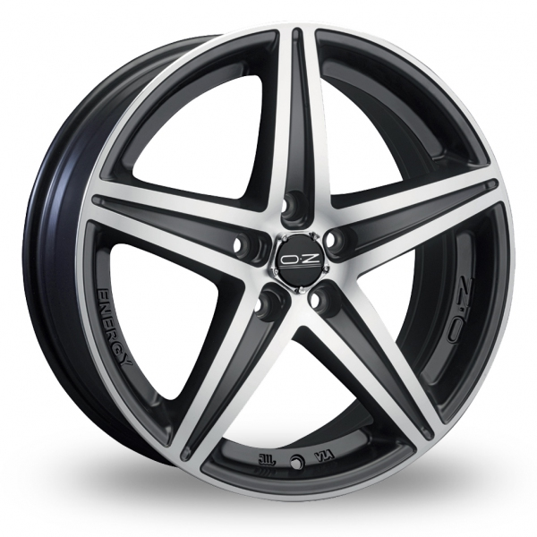Zoom OZ_Racing Energy Black_Polished Alloys