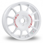 Image for OZ_Racing Leggenda White Alloy Wheels