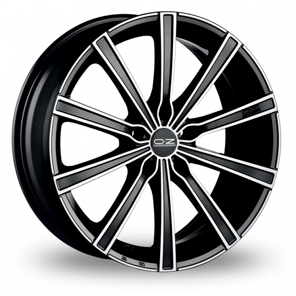 Zoom OZ_Racing Lounge_10 Black_Polished Alloys
