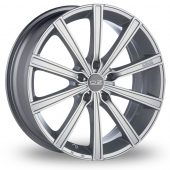 Image for OZ_Racing Lounge_10 Silver_Polished Alloy Wheels