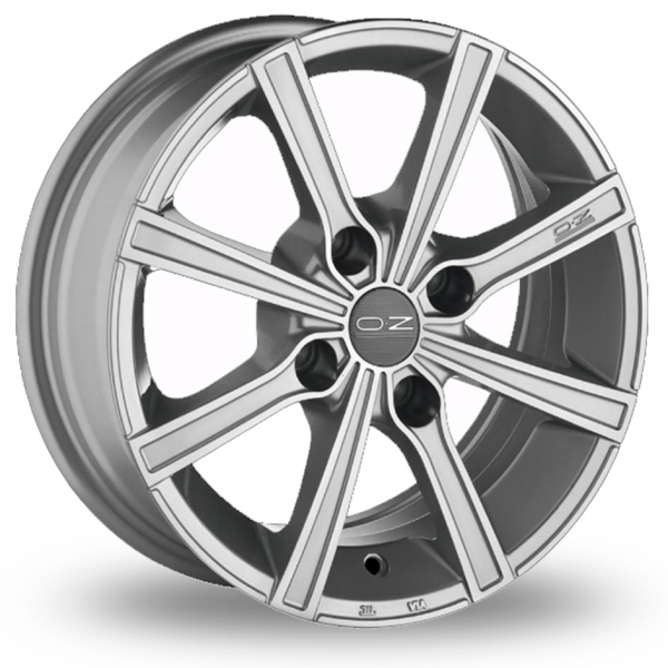 Zoom OZ_Racing Lounge_8 Silver_Polished Alloys