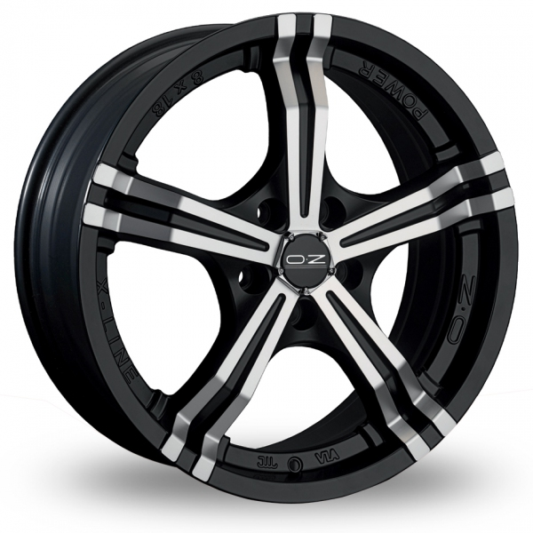 Zoom OZ_Racing Power Black_Polished Alloys