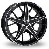 Image for OZ_Racing Quaranta Black_Polished Alloy Wheels