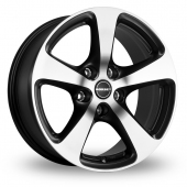Image for Borbet CC Black_Polished Alloy Wheels