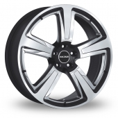 Image for Radius R15 Black_Polished Alloy Wheels