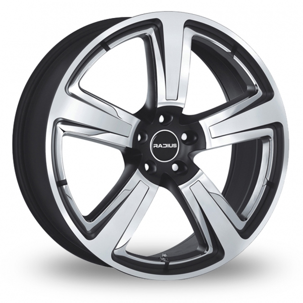 Zoom Radius R15 Black_Polished Alloys