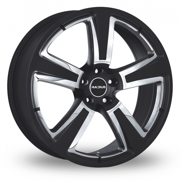 Zoom Radius R15 Black Alloys