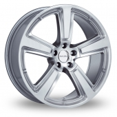 Image for Radius R15 Silver Alloy Wheels