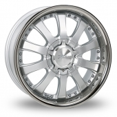 Image for Zito Derosa Silver Alloy Wheels