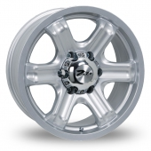 Image for Zito Mace Silver Alloy Wheels