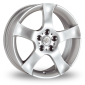Image for Fondmetal 7200 Silver Alloy Wheels