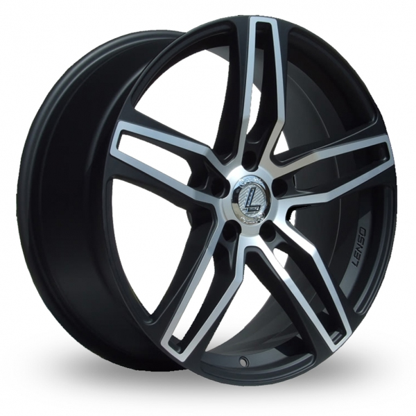 Picture of 20 Inch Lenso CQ4 Alloy Wheels
