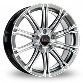 Image for CW_(by_Borbet) CW1 Hyper_Silver Alloy Wheels