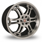 Image for Calibre Raid Anthracite_Polished Alloy Wheels