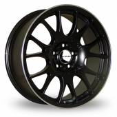 Image for Dare DR-CH Black_Polished Alloy Wheels