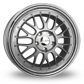 Image for Dare DR-LM Silver_Polished Alloy Wheels