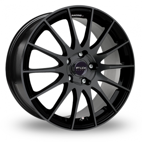 Picture of 16 Inch Fox Racing FX004 Black Alloy Wheels