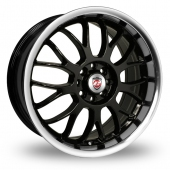 Image for Calibre Askari Black_Polished Alloy Wheels