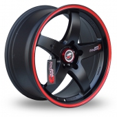 Image for Samurai D1-R Black_Red Alloy Wheels