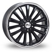 Image for Zito Orlando_5x120_Wider_Rear Black Alloy Wheels