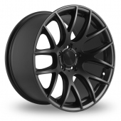 Image for ThreeSDM 0_01_5x120_Wider_Rear Matt_Black Alloy Wheels
