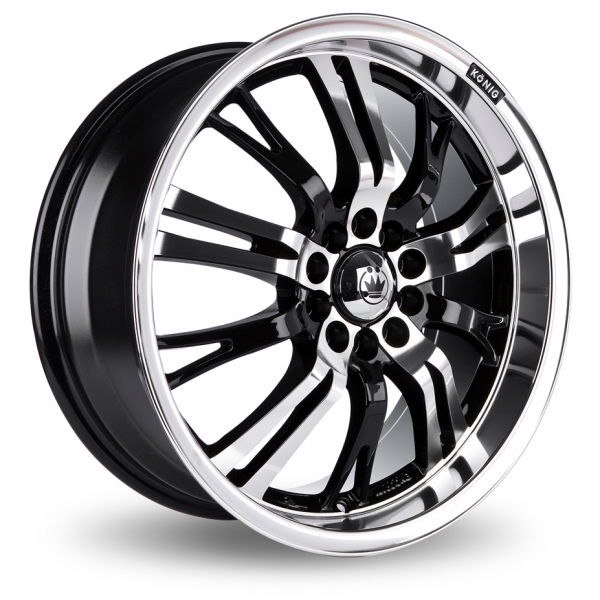 Picture of 17 Inch Konig Unknown Alloy Wheels