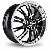 Image for Konig Unknown Black_Polished Alloy Wheels