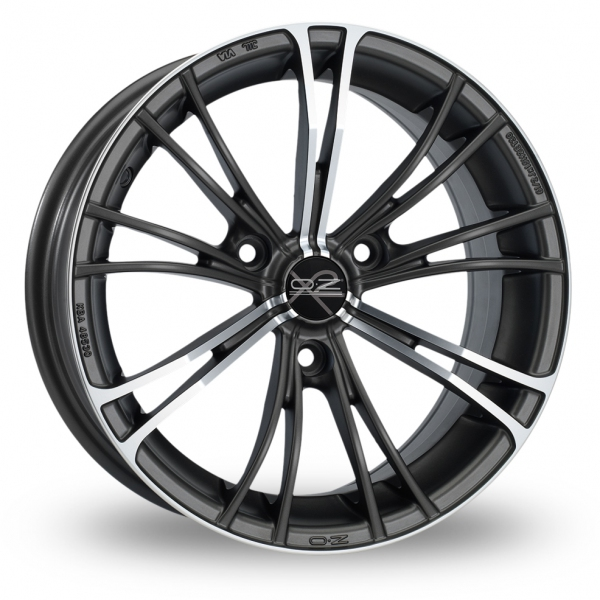 Zoom OZ_Racing X2 Gun_Metal_Polished Alloys
