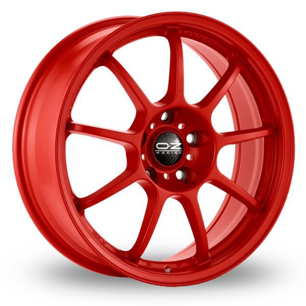 Zoom OZ_Racing Alleggerita_HLT_5x120_Wider_Rear Red Alloys