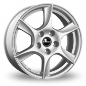 Image for Borbet TL Silver Alloy Wheels