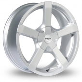 Image for Fox_Racing FX1 Silver Alloy Wheels