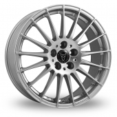 Image for Wolfrace Messina Silver Alloy Wheels