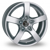 Image for Wolfrace Salerno Silver Alloy Wheels
