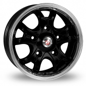 Image for Calibre Dominator Black_Polished Alloy Wheels