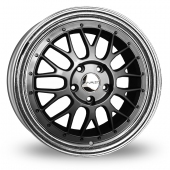 Image for Dare DR-LM Gun_Metal Alloy Wheels