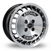 Image for Ronal R10_Turbo Black_Polished Alloy Wheels