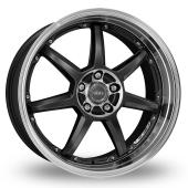 Image for Dotz Fast_Seven_5x112_Wider_Rear Gun_Metal_Polished Alloy Wheels