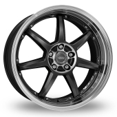 Image for Dotz Fast_Seven_5x120_Low_Wider_Rear Gun_Metal_Polished Alloy Wheels