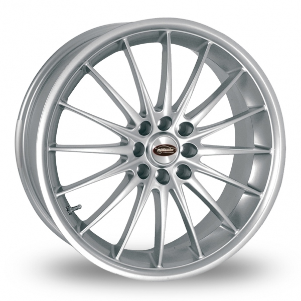 Picture of 15 Inch Team Dynamics Jet Silver Alloy Wheels