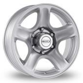Image for Dotz Hammada Silver Alloy Wheels