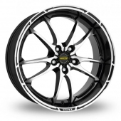 Image for Dotz Tupac_5x120_Low_Wider_Rear Black_Polished Alloy Wheels