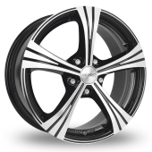 Image for Dezent RI Black_Polished Alloy Wheels