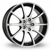 Image for Dezent V Black_Polished Alloy Wheels