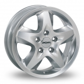 Image for Ronal R44 Silver Alloy Wheels