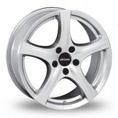 Image for Ronal R42_5x114_Wider_Rear Silver Alloy Wheels