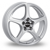 Image for Ronal R53_5x112_Wider_Rear Silver Alloy Wheels
