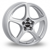 Image for Ronal R53_5x120_Wider_Rear Silver Alloy Wheels