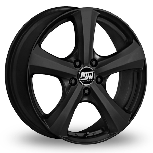 Picture of 14 Inch MSW 19 (WINTER) Black Alloy Wheels